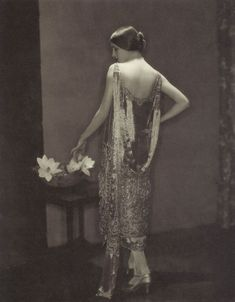 Marion Morehouse modeling Chanel by Edward Steichen, 1924