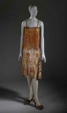 Evening Dress Callot Soeurs, 1925 The Los Angeles County Museum of Art