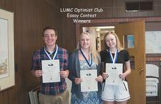 optimist club essay contest winner