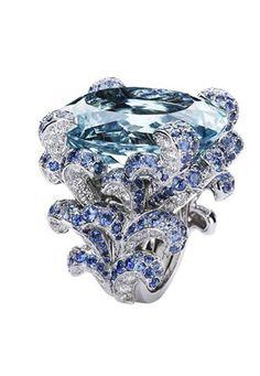 """Victoire de Castellane for Dior Joaillerie / """"Les Incroyables et les Merveilleuses"""" collection. Cocktail ring"""