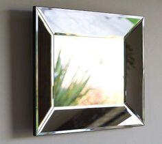 Pottery Barn beveled glass mirror