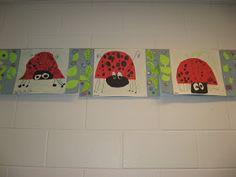 Jamestown Elementary Art Blog: Kindergarten Cut and Paste Ladybugs
