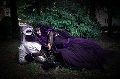 Shalka and Vanessa from Leodhrae http://www.aurorafilippi.com/  Photo by: Francesca Solari https://www.facebook.com/Francesca-Solari-Photography-454269394624161/ Location: Grazzano Visconti (Italy) #leodhrae #fantasy #costume #cosplay #book #novel #fairyland