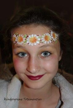 FlowerCrown | DIY Face Painting Ideas for Kids