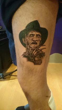 Halloween competition tattoo