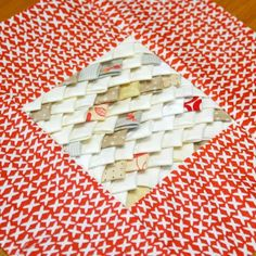 Dragon Scales Quilt Block | Be the Khaleesi of this quilt block!