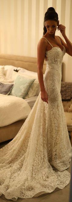 Lace Wedding Dress by Berta Bridal   @bertabridal