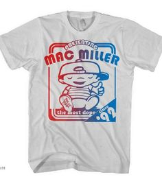 Amazon.com: Mac Miller Shirt-- Choose Your Style & Size-- Most Dope!!--Thumbs Up-- Macadelic: Clothing