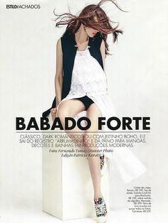 Babado Forte / ELLE Brazil 2016