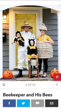 *Bee hive family costume