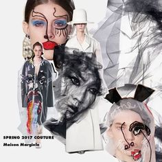 @maisonmargiela presentó su colección #SS17 'Artisanal' diseñada por @jgalliano . Entre las piezas más icónicas está este abrigo con aplicación en 3D de tul #pfw #hautecouture #maisonmargiela  via ELLE MEXICO MAGAZINE OFFICIAL INSTAGRAM - Fashion Campaigns  Haute Couture  Advertising  Editorial Photography  Magazine Cover Designs  Supermodels  Runway Models