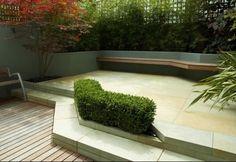 Outdoor Design, Modern Landscaping Ideas With Simple Plant Arrangemet For Small Garden: How to Plan a Small Garden Layout with the Perfect Plants and Structures Modern Patio Design, Modern Landscape Design, Garden Landscape Design, Modern Landscaping, Pool Landscaping, Small Garden Design, Contemporary Patio, Garden Modern, Landscaping Design