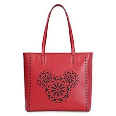 Mickey Mouse Icon Laser Cut Vera Bradley Bags Now Come In Red!!