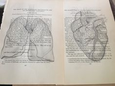 Sketches in a 1926 medical book. Lungs, heart, old book project art