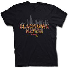 Very cool artistic Design for Blackhawks fan
