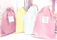 multi-purpose nylon bags from yumeni ☆ enter code 'amekori' at the checkout for 8% discount!