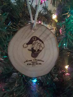 University of Oregon Ducks Football Ornament Christmas
