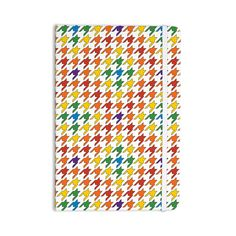 "Empire Ruhl ""Rainbow Houndstooth"" Everything Notebook from KESS InHouse"