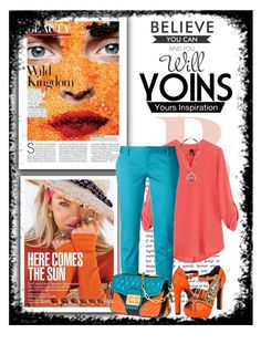 """""""yoins"""" by deskaj ❤ liked on Polyvore featuring Dsquared2, Miu Miu, Qupid, women's clothing, women, female, woman, misses, juniors and yoins"""