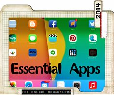 Essential Apps for School Counselors (I'm not doing school counseling, but this still may come in handy.)