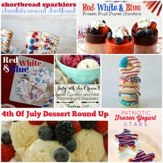 4th of July Dessert Round Up, Project Inspire{d} Week #73 Party and Features - Cupcakes and Crinoline
