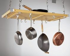 10 Ceiling Pot Racks Under $100 Product Roundup | The Kitchn