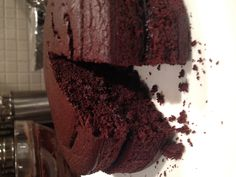 Healthy chocolate cake!! Sugar free, flour less and no butter!!! I'm in love with this!
