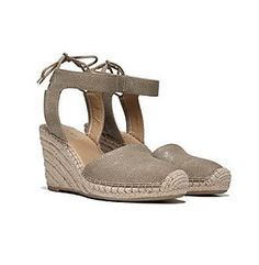 "Franco Sarto® ""Mariska"" Wedge Closed Toe Sandals"