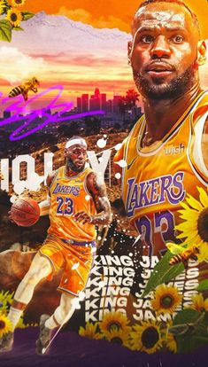 LeBron James wallpaper Lebron James Lakers, King Lebron James, Basketball Art, Basketball Players, Lebron James Wallpapers, Flower Boys, Nba Players, Graphic Design Inspiration, Illustration