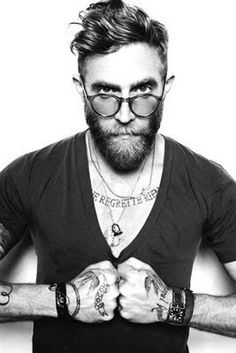 Is it wrong to have man crushes on guys with beards that rock! He is just cool as f**k!