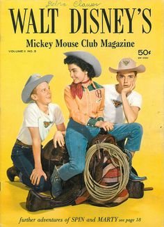 Walt Disney's Mickey Mouse Club Magazine vol 2