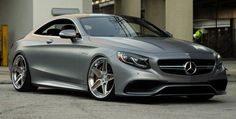 Matte Grey Mercedes S63 AMG Coupe on ADV5S Track Spec CS