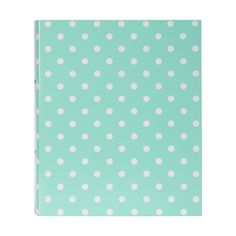 This funky fun Dotty Ring Binder Folder is perfect for any upbeat, organised…