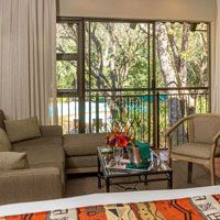 View from the Superior Room at Protea Hotel Kruger Gate