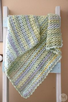New Crochet Blanket Tutorial!