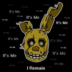 ======= Shirt for Sale ======= Springtrap - I Remain  Five Nights at Freddy's tshirt by Kaiserin. =========================   #FNAF