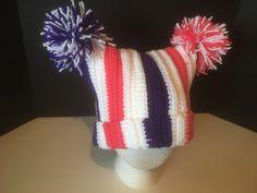 Crochet Patterns Galore - Aubrey's Pom-Pom Hat