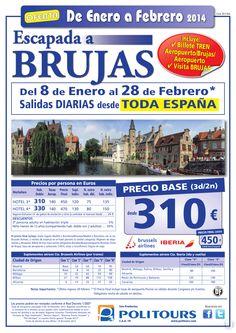 Escapada a BRUJAS, salidas del 11/01 al 28/02/14 desde Toda España (3d/2n) p.f desde 450€ ultimo minuto - http://zocotours.com/escapada-a-brujas-salidas-del-1101-al-280214-desde-toda-espana-3d2n-p-f-desde-450e-ultimo-minuto/