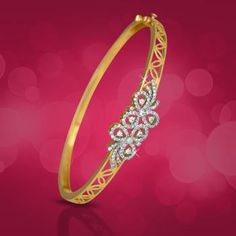 This Year Best Diamond Bracelets and Bangles Diamond Bracelets, Gold Bangles, Diamond Jewelry, Gold Jewellery, Peacock Jewelry, India Jewelry, Bangle Bracelets, Gold Rings, Gold Earrings Designs