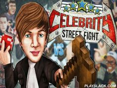 Celebrity: Street Fight  Android Game - playslack.com , Take part in crowning battles with dissimilar celebrities. appoint your popular character and guide him to success. The route to honor is not uncomplicated. But in this entertaining game for Android you can  succeed using hands. move your warrior to the ring and take part in non-stative 1 on 1 battles. Use a collection of blows, exclusive qualities and disastrous combos. Dodge foe assaults. mangle your contestants and get all the…