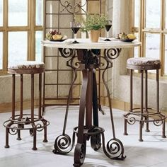 b1 availablebbrbrDesigned for small spaces and casual dining, these tall tables are a fashionable alternative to kitchen or game tables. It should be used with stools that have a seat height...