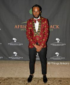 Gala-All Things Ankara's Best Dressed Men at Africa Gives Back International…