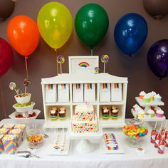 Somewhere Over The Rainbow Party