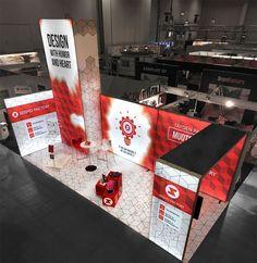 x Fully Custom Modular LED Light Box Display Layout - Panoramic Exhibit. Box Design, Event Design, Stand Design, Design Ideas, Exhibition Booth Design, Exhibit Design, Exhibition Stands, Exhibition Space, Light Box Display