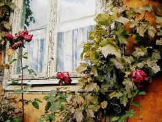 Fading roses by Le Portillon