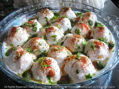 Dahi Bhalla...North Indian Street Food