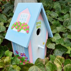 Grandma Personalized Birdhouse