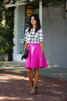 #fashion #fashionista @Anna Totten Hutt Fleur VIVALUXURY: FULL ON FUCHSIA