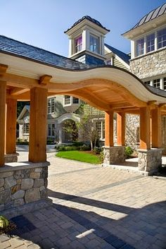 Exterior Home Detailed Millwork