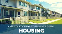 Our helpful guide to housing on MCBH on #OAHU  #PCSing #MilitaryLife #Milso…